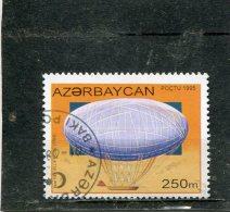 AZERBAIJAN. 1995. SCOTT 509. BALLOONS AND AIRSHIPS. FIRST ELLIPTICAL BALLOON, 1784 - Azerbaïdjan