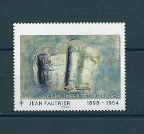 Ann�e 2014, S�rie artistique. Jean Fautrier. Valeur et nom du pays omis