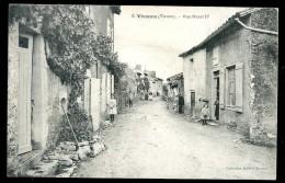 Cpa   Du 86 Vivonne  Rue Henri  IV   AO53 - Vivonne