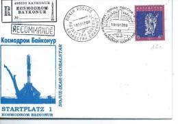 KOSMODROM BAYKONUR: Enveloppe 18-10-1999 - Russia & USSR