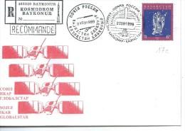 KOSMODROM BAYKONUR: Enveloppe 22-09-1999 - Russia & USSR