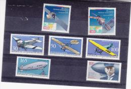 1991 - Europa Satellite - Flugzeug Avion Plane - Zeppelin - ** - [7] Federal Republic