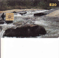 Swaziland, Chip, Environment, Expiry Date 31.03.2002 - Swaziland