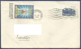 RSA 1985 POSTAL USED AIRMAIL COVER TO PAKISTAN  FRIENDSHIP STAMP - Stamps