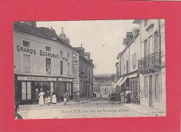 CPA - IS sur TILLE -  Rue Dominique Ancemot - Grands Economats Fran�ais  n� 131 - Bardet �diteur