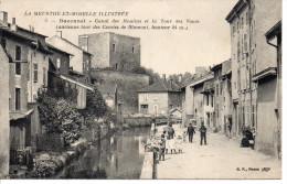 54 BACCARAT Canal Des Moulins Et La Tour Des Voués, Série La Meurthe Et Moselle Illustrée - Baccarat