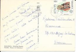 EUROPA  ESPAGNE  1978 SUR CP CACHET MALLORKA - 1931-Today: 2nd Rep - ... Juan Carlos I