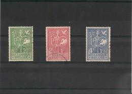 BELGIQUE Année 1953 N°Y/T : 927/829 Oblitérés Côte : 50 €