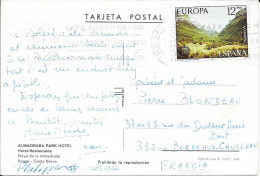 EUROPA  ESPAGNE  1977   SUR CP - 1931-Aujourd'hui: II. République - ....Juan Carlos I