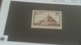 LOT 232353 TIMBRE DE FRANCE NEUF* N�260 VALEUR 25 EUROS
