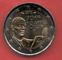 FRANCIA - 2 Euros 2010 - 70 Aniversario