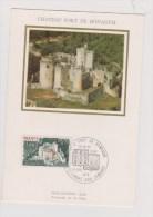 EUROPA  1976   //  CHATEAU FORT DE BONAGUIL - Maximum Cards