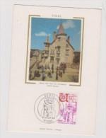 EUROPA  1976   //  USSEL - Cartoline Maximum