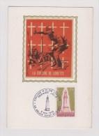 PREMIER JOUR     //   LA COLLINE DE LORETTE  1978 - Cartoline Maximum