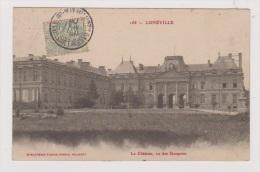 LUNEVILLE  //  Le Château , Vu Des Bosquets - Luneville