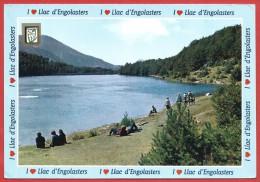 CARTOLINA VG ANDORRA - VALLS D'ANDORRA - Lago Di Engolasters - 10 X 15 - ANNULLO 1989 - Andorra
