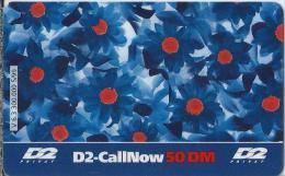 Telefonkarte.- Duitsland. D2-CallNow - 50 DM. - D2 - Privat - 2 Scans - GSM, Voorafbetaald & Herlaadbare Kaarten