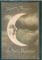 Lune - Moon - Mond - Femme Surréaliste - TBE - Non Classés
