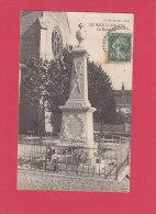 CPA -  LES MAILLYS -  Le Monument  - Cliché Karrer - France