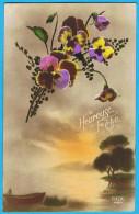 HEUREUSE FÊTE  - 1925 - - Fêtes - Voeux