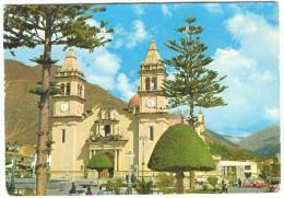 Peru, TARMA, JUNIN, Main Square 1975 used Postcard [14186]
