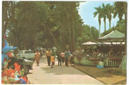 Peru, Lima, Plaza De Armas, Chosica, 1977 Used Postcard [14187] - Peru