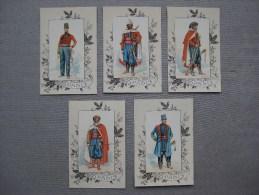 Cartes Reproductions De Dessin :  Uniformes De Spahis 1841- 1892 - Documents