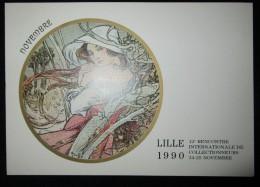 189.BOURSE D'ECHANGE 12ème Rencontre Internationale De Collectionneurs De Lille -59- Du 24 Au 25 Novembre 1990 - Bourses & Salons De Collections