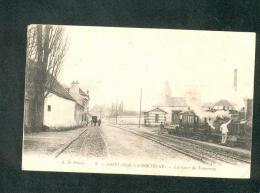 St Saint Nom La Breteche (78) - Gare Du Tramway ( Animée Train Chemin De Fer A.D. Paris 8) - St. Nom La Breteche