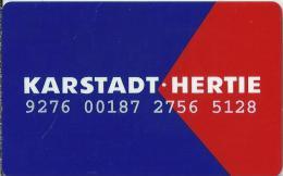 DE.- Telefonkarte.- Duitsland. Karstadt-Hertie. Klub Karstadt. Osnabruck. 2 Scans - Andere