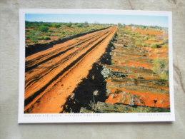 Australia  - Old Ghan Rail Route  - Northern Territory  -  German  Postcard    D121166 - Australia