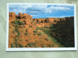 Australia  -Kings Canyon - Watarrka  N.P.  - Northern Territory  -  German  Postcard    D121174 - Australie