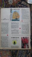 Spirou N° 1167 Mini Récit Mini Bibliothèque 31 La Route Du Thé Piroton Non Monté - Spirou Magazine