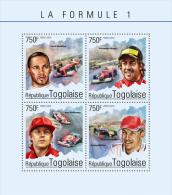 tg14605a Togo 2014 Car Formula 1 s/s