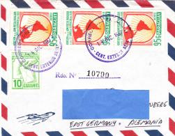 Z3] Enveloppe Recommandée Registered Cover Paraguay  Carte D'Amérique America Map - Paraguay