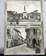 POZZOLENGO BRESCIA  2 VEDUTE  ANIMATA - Brescia