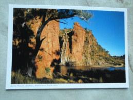 Australia  - GLEN HELEN GORGE    - Northern Territory  -  German  Postcard    D121196A - Australie