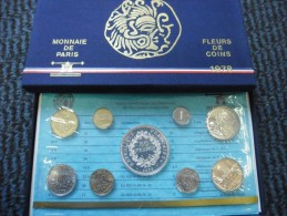 COFFRET BU FRANCE 1978 FDC OFFICIEL DE LA MONNAIE DE PARIS Dont La 50 Francs En Argent - France