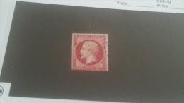 LOT 232441 TIMBRE DE FRANCE OBLITERE N�17B VALEUR 55 EUROS