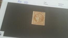 LOT 232455 TIMBRE DE FRANCE OBLITERE N�43B VALEUR 100 EUROS TB