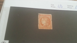 LOT 232467 TIMBRE DE FRANCE OBLITERE N�48 VALEUR 130 EUROS