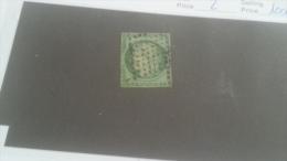 LOT 232475 TIMBRE DE FRANCE OBLITERE N�2 VALEUR 1000 EUROS