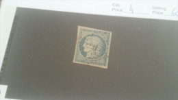 LOT 232476 TIMBRE DE FRANCE OBLITERE N�4 VALEUR 60 EUROS
