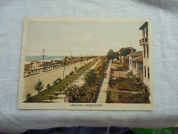 LIGNANO SABBIADORO LUNGO MARE  ANIMATA 1940 - Udine