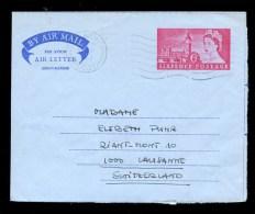 AEROGRAMME AEROGRAM AIRLETTER * GB UK SENT TO SWITZERLAND 1965 - Postwaardestukken