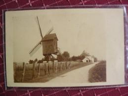 Moulin A Identifier Windmolen Photo Carte Foto Kaart - Mulini A Vento