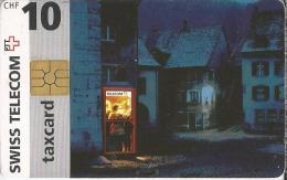 Telefoonkaart - Zwitserland. Swiss Telecom. Taxcard. CHF 10. telefooncel.