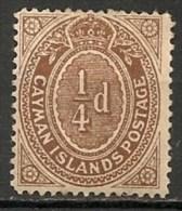 Timbres - Amérique - Iles Caïmans - 1/4 D. - - Iles Caïmans