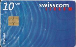 Telefoonkaart - Zwitserland. Swiss Telecom. Taxcard. CHF 10.