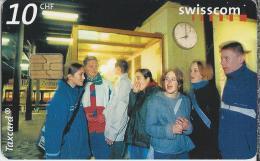 Telefoonkaart - Zwitserland. Swiss Telecom. Taxcard. CHF 10. Teenager Treffpunkt, Liestal.
